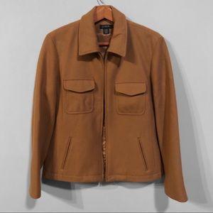 J. Crew Wool Zip-Up Pea Coat